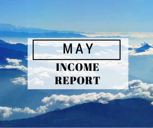 May 2016 Income Report